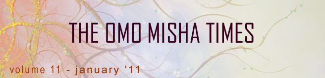 Thanks for reading The Omo Misha Times!!!
