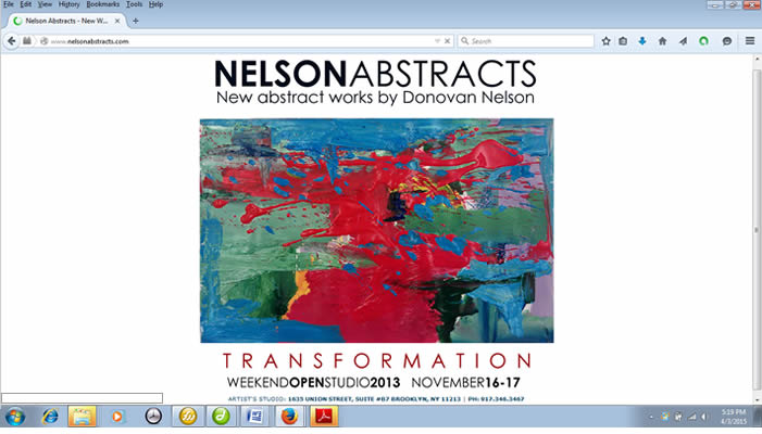 Nelson Abstracts webpage